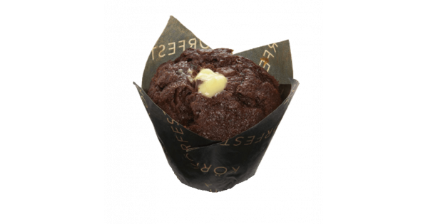 Muffin Chocolate y crema